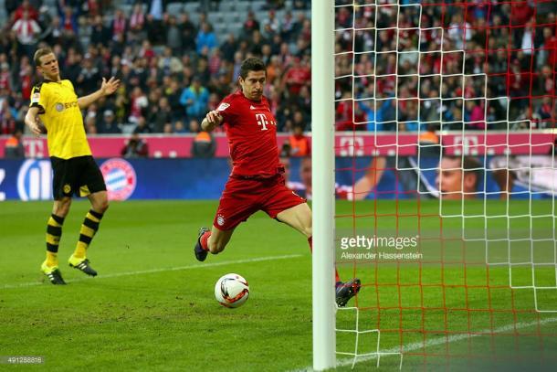 Lewandowski está na corrida pela Bota de Ouro