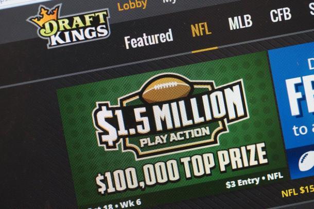 DraftKings é um dos principais sites de fantasy games do mundo (Foto: Scott Olson/Getty Images)