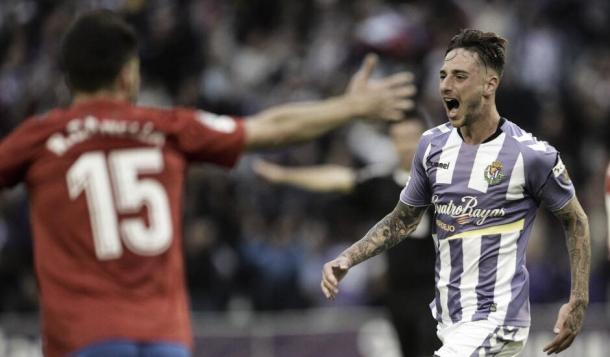 Calero fue la revelación del equipo en la defensa   Real Valladolid