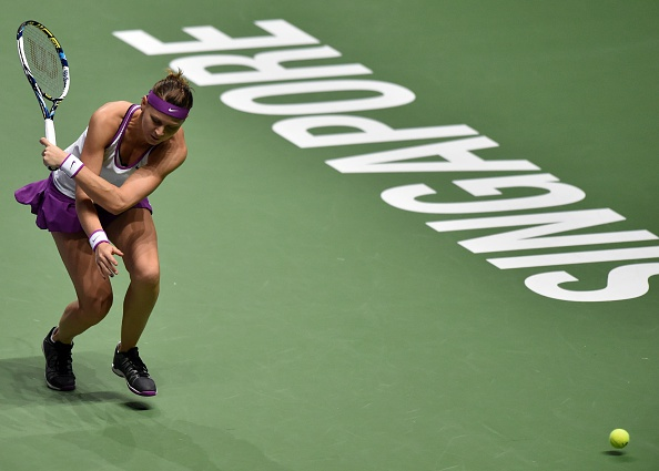 Safarova's season of 2015 did not conclude the wya she would have wanted. Photo credit: Mohd Tyrol/Getty Images.
