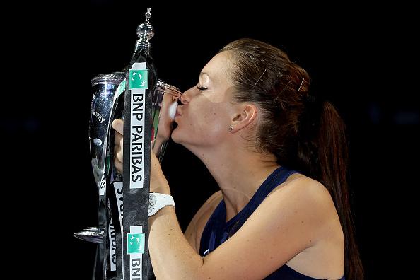 Radwanska's win at last year finals propelled her great start to the season | Photo: Matthew Stockman/Getty Images
