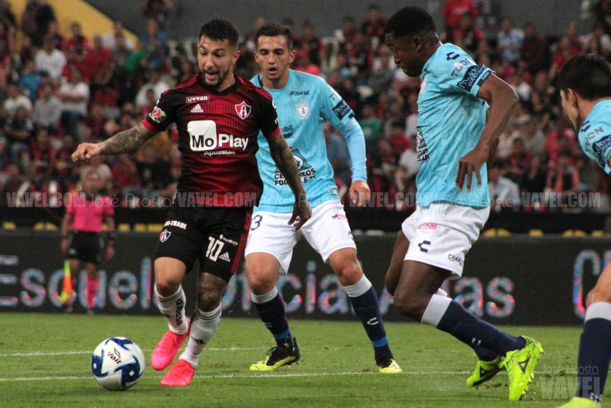 Bajo la dirección técnica de Rafael Puente, Atlas perdió en siete de nueve partidos / Foto: José Acosta - VAVEL