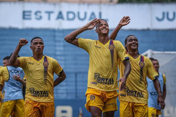 Trio de destaque, Emerson Carioca, Ygor Catatau e Wander, eram os titulares no estadual (Foto: Luis Miguel/ Madureira EC)
