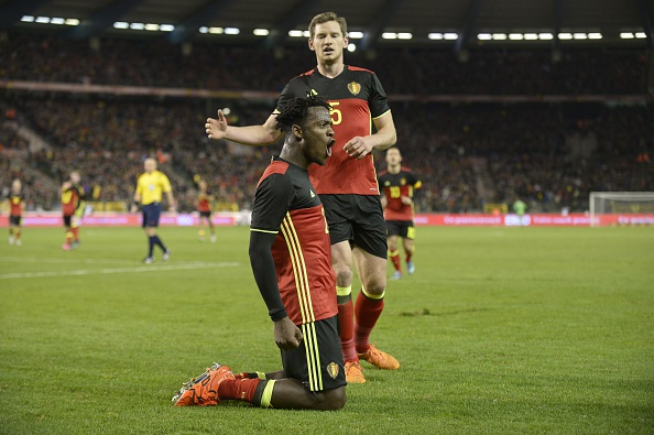 Michy Batshuayi netted when Belgium beat Italy | Photo: John Thys/AFP/Getty Images