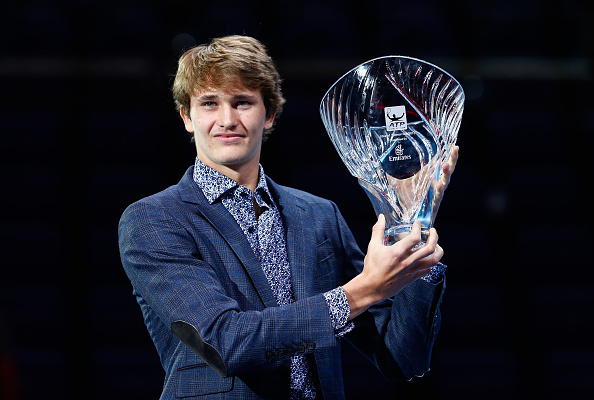 Zverev named ATP Star of Tomorrow | Photo Courtesy: Julian Fiinney (Getty Images)