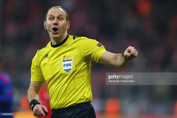 Esta é terceira vez que o sueco apita um jogo do Sp Braga