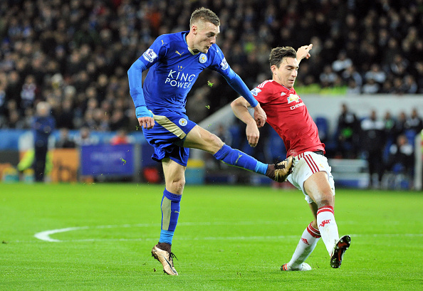 Vardy's pace off the shoulder could be explosive for The Gunners (photo:getty)