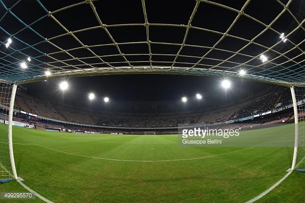 Estadio San Paolo. / Foto: gettyimages