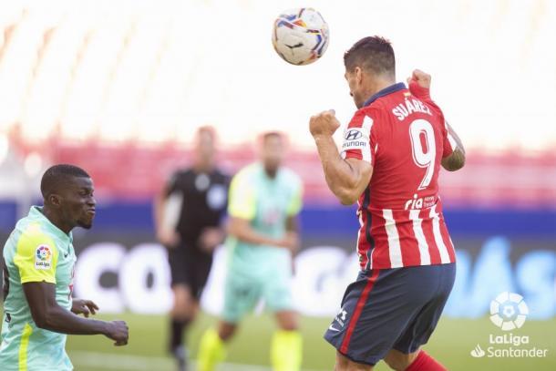 Gol de Suárez / Foto: LaLiga