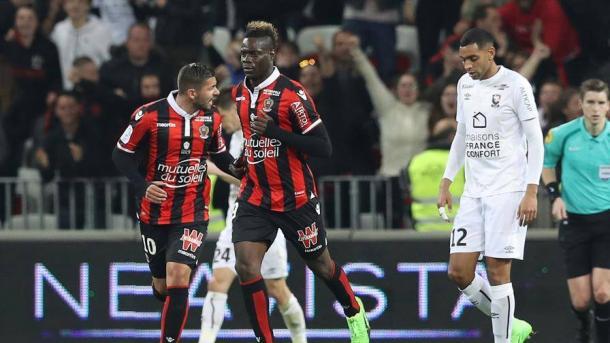 Balotelli torna al gol ma il Nizza stecca: solo 2-2 contro il Caen