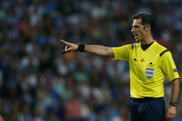 Carlos Xistra será o árbitro da partida | Foto: 24.sapo.pt