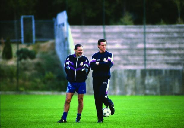Valdano y Cappa (foto:ElGráfico)