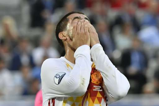 Alvaro Morata sums up Spain's night (photo : Getty Images )
