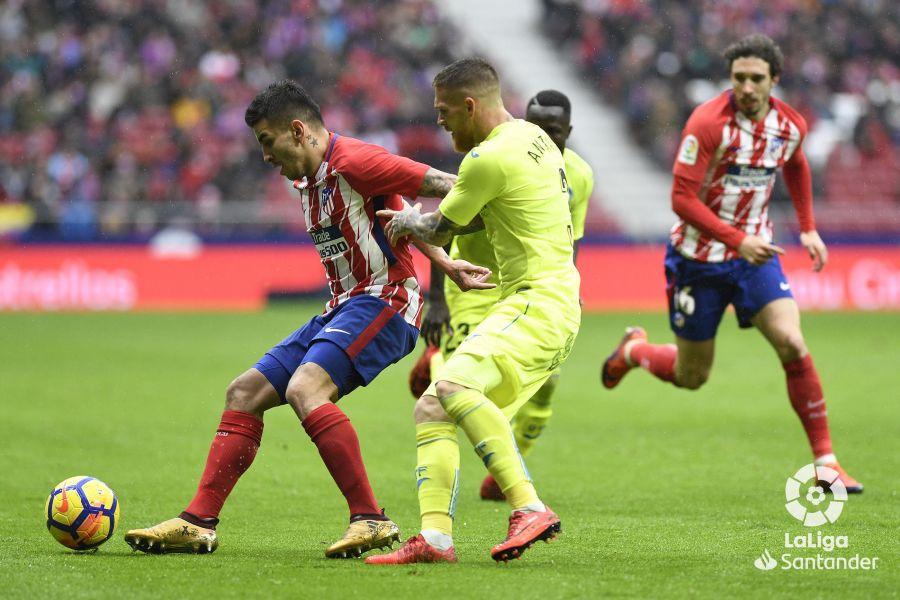 Atlético de Madrid-Getafe 17/18. Fuente: LaLiga.
