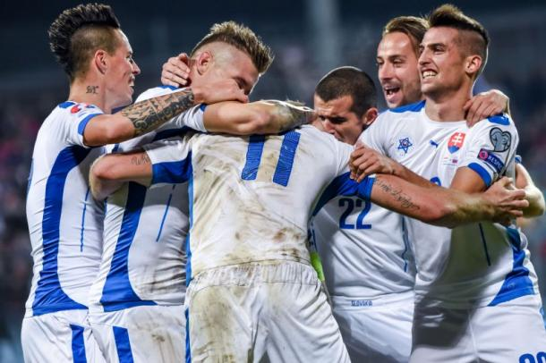 Slovakia qualify for Euro 2016 (photo: Getty Images)