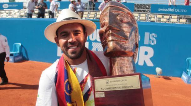 Victor Estrella Burgos won the title the last three years in Quito. Photo: Paul Rivas/El Comercio