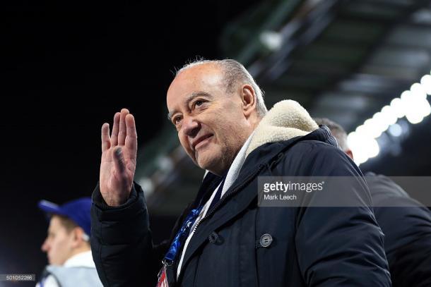 Pinto da Costa encarou a polémica das comissões com normalidade. (Fonte: Getty Images)
