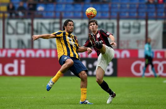 Milan Hellas Verona 1-1,gazzetta.it