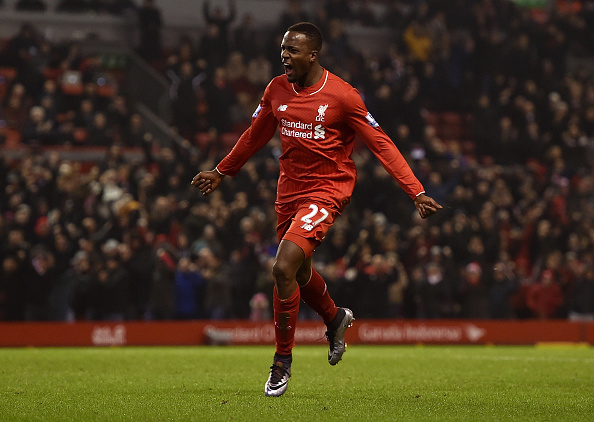 Divock Orogi snatched a late equaliser at Anfield back in December (photo:getty)