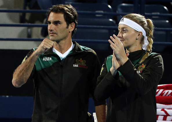 Mladenovic following in the footsteps of Federer to train in Dubai | Photo courtesy of: Karim Sahib/Getty Images