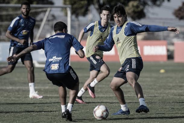Moreno está suspenso. (Foto: Gustavo Aleixo/Cruzeiro)