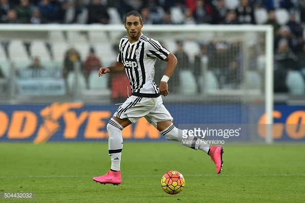 Caceres has played at the top of the European game. Photo: Getty.
