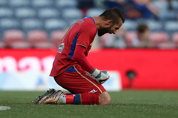 Mark Birighitti has plenty to be proud of from his stint in his homeland. (Photo: Tony Feder/Getty Images)