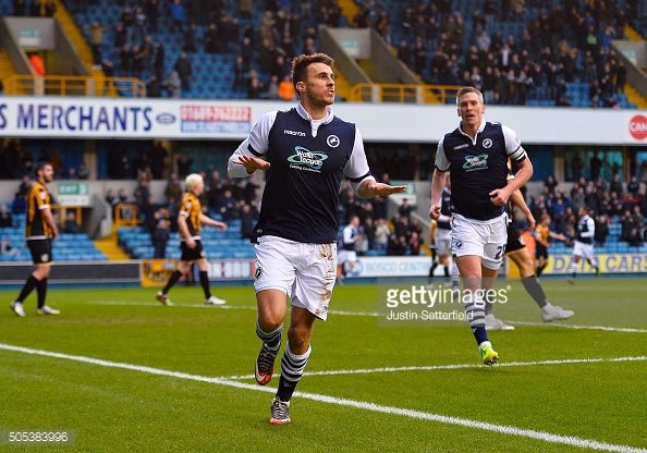 Lee Gregory has reportedly handed in a transfer request at Millwall. (picture: Getty Images / Justin Setterfield)