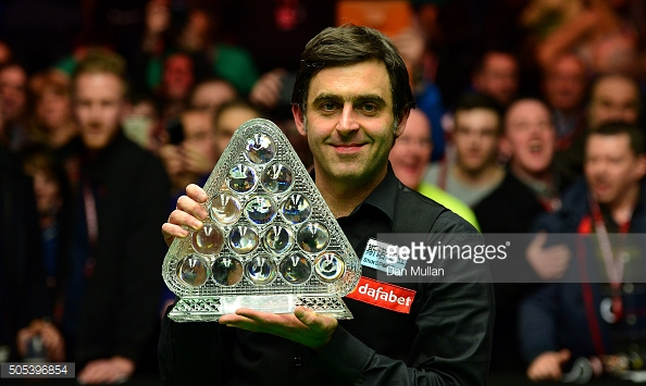 O'Sullivan is looking to retain his crown (photo: Getty Images)