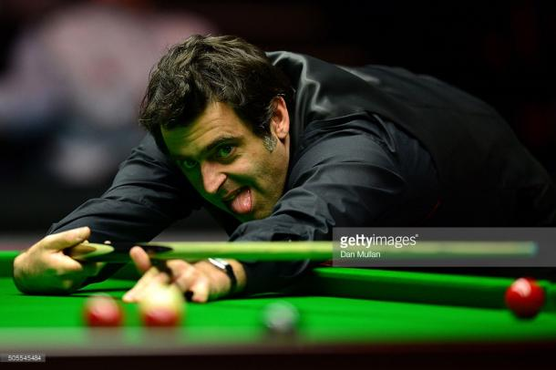 O'Sullivan can't find the time or motivation to practice (photo: Getty Images)