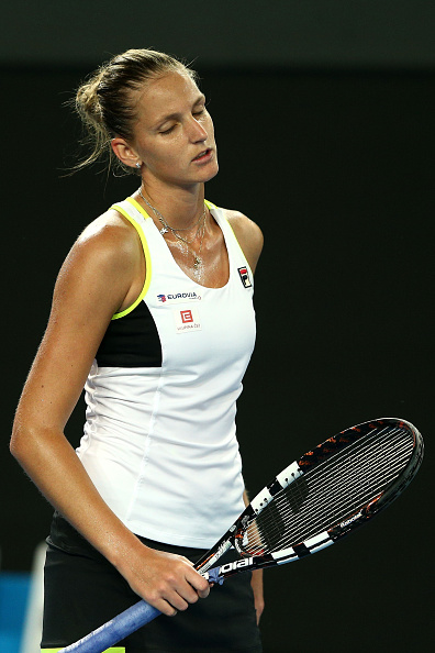 Pliskova looked lost | Photo courtesy of: Cameron Spencer/Getty Images