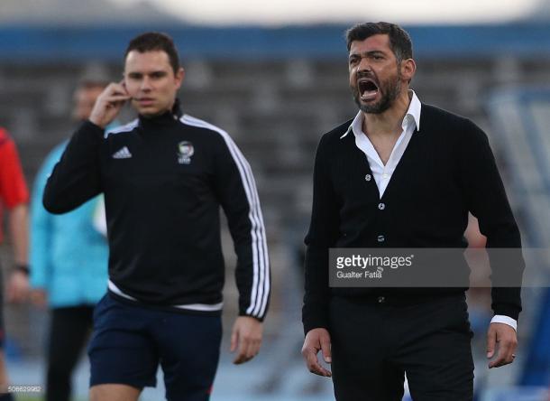 Sérgio Conceição já garantiu que de tudo fará para arrecadar pontos na Luz