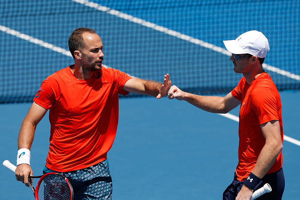 Bruno Soares (left) and Jamie Murray (Photo: Getty Images)