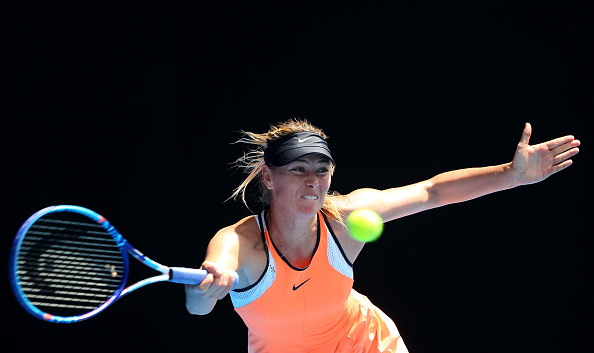 Sharapova em ação no Australian Open/ Foto: Quinn Rooney/ Getty Images