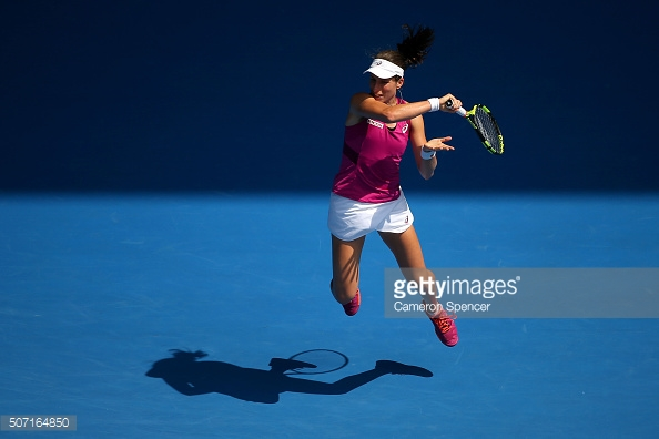 World No. 7 Johanna Konta will be competing in Nottingham next week. (picture: Getty Images / Cameron Spencer)