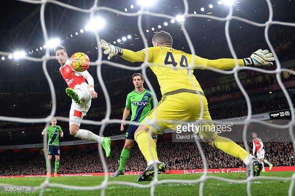 Fraser Forster has not been beaten in over nine hours of football (photo: Getty Images)