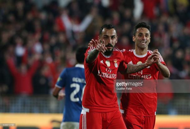 Mitroglou e Jonas são as estrelas principais deste Benfica