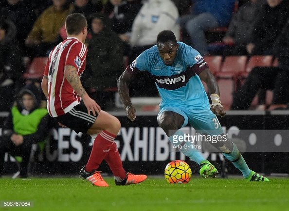 Antonio has played on both sides and currently finds himself in good form for the Hammers. Photo: Getty