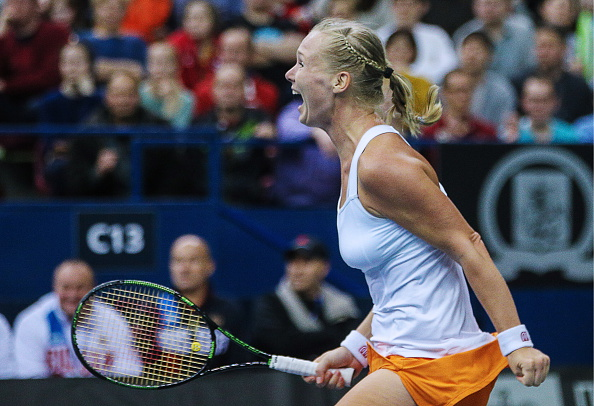 Bertens was the star during their quarterfinal win | Photo: Sergei Bobylev/Getty Images
