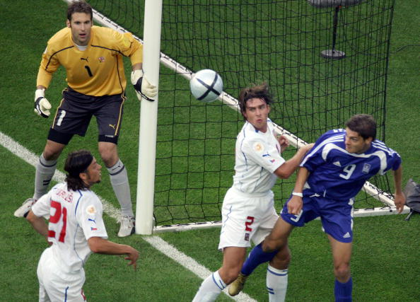 Čech helped guide the Czech Republic to the semi-finals of Euro 2004, before losing to winners Greece (photo:getty)