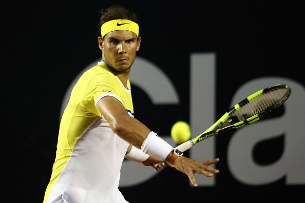 Rafael Nadal prepares to hit a forehand (Photo: Getty Images)
