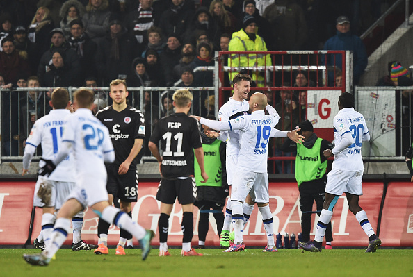 FSV Frankfurt did the double over FC St. Pauli last season. (Photo: Stuart Franklin/Bongarts/Getty Images)