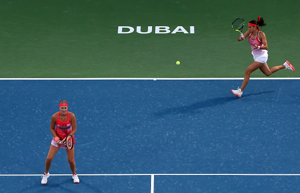Mladenovic and Garcia have their eye on Rio Olympics | Photo courtesy of: Francois Nel/Getty Images