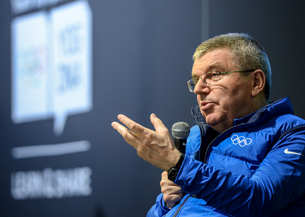 IOC President Bach is determined to stop the cheats (photo:getty)