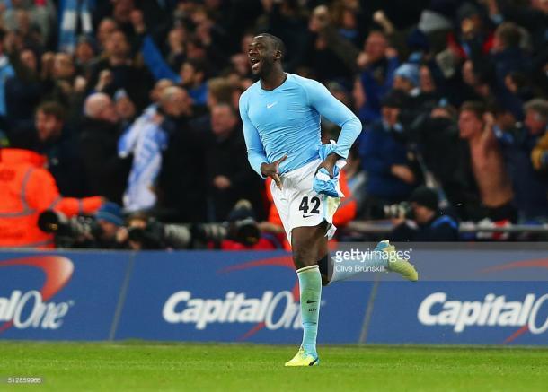 Touré marcou a grande penalidade da vitória