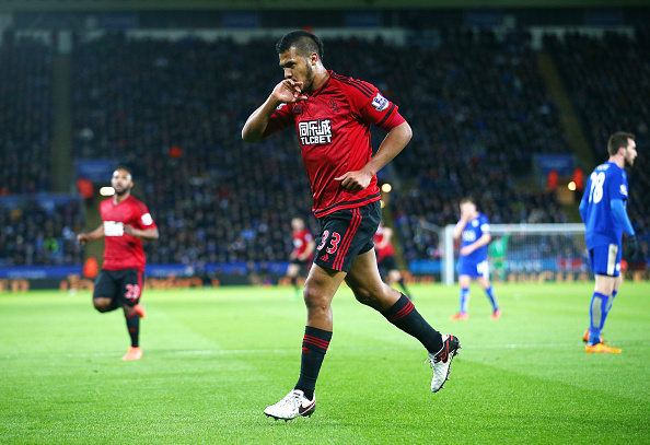 Rondon scores versus Leicester City (photo:getty)