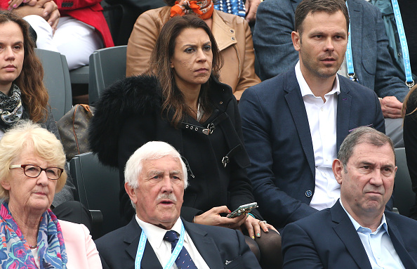 Marion Bartoli in the crowd for the Men's final between Andy Murray and Novak Djokovic (Photo: Jean Catuffe/Getty Images)