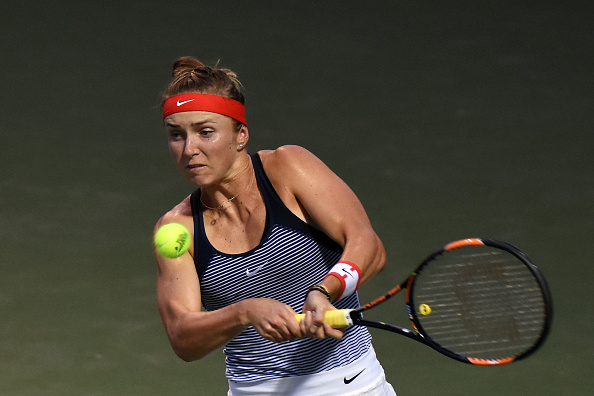 Svitolina forces a third set | Photo courtesy of: Stanley Chou/Getty Images