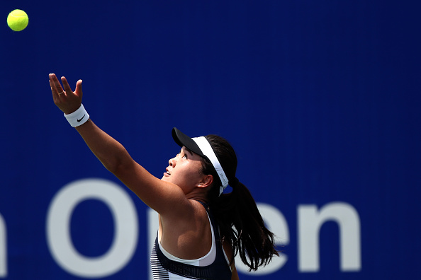 Zhu enters her first semifinal of the year | Photo courtesy of: Stanley Chou/Getty Images