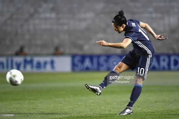 The standout for Frankfurt, the hosts couldn't live with Yūki Ōgimi (Nagasato) who remained a threat throughout